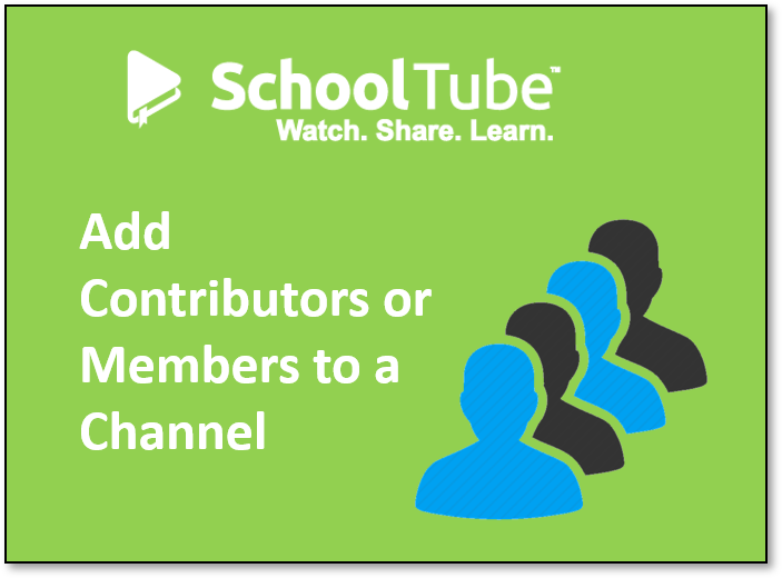 Add Contributors to Channel